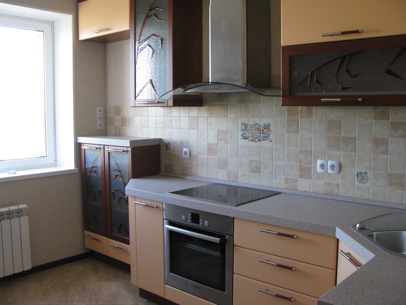 Фото кухня ремонт своими руками в панельном доме